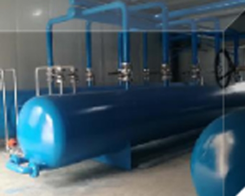 十万平方米锅炉供暖制气设备